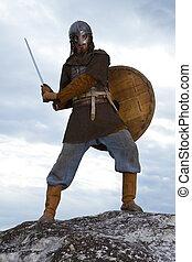 cavaleiro, espada