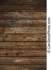 Vintage Wood Planks - Vintage Horizontal Wood Planks...
