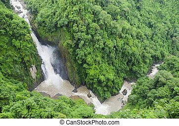 Beautiful Unesco Haew Narok Waterfall in Khao Yai