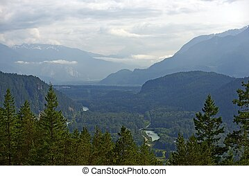 British Columbia Canada. Beautiful Nature Scenery. Scenic by...
