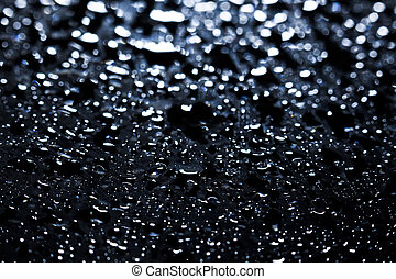 Abstract Water Droplets