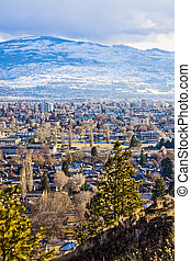 Overlooking the City of Kelowna