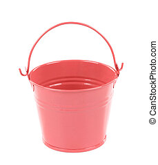 Light pink pail
