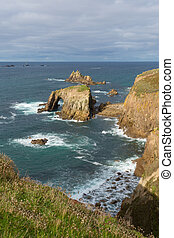 Tourist attraction Lands End Cornwa - Lands End Cornwall...