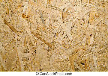 chipboard - offcuts of tree in odinom strong composition