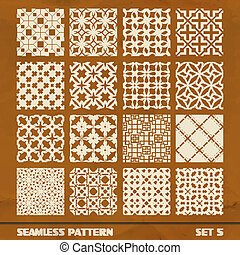 SEAMLESS vintage pattern. Abstract background. Great...