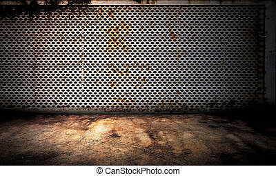 Metal Wall Interior Stage