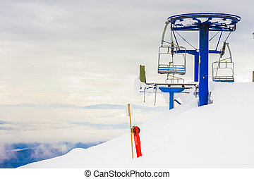 Ski Resort Scenery