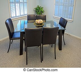Conference room - Overview of a small meeting room as...