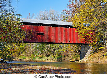 Dick Huffman Covered Bridge - Also know as the Websters Ford...