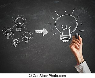 Create a big idea