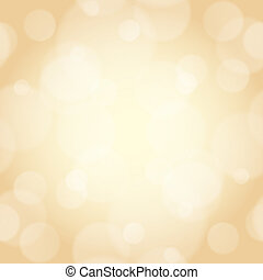beige background with bokeh effect used as a backdrop or...