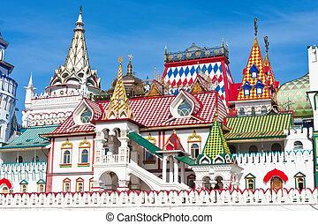 Kremlin in Izmailovo - Beautiful view of kremlin in...