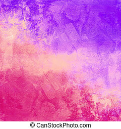 Abstract colorful vintage distressed background