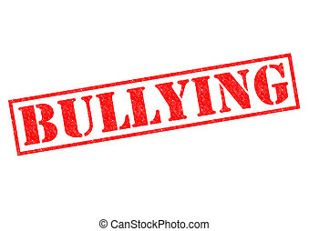 BULLYING red Rubber Stamp over a white background.