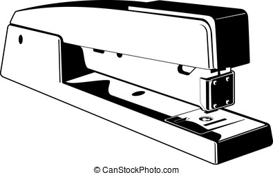 Stapler - This is a vector graphic of a stapler