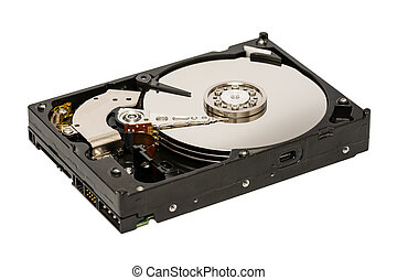 Hard Disk Drive Isolated - Computer Hard Disk Drive Isolated...