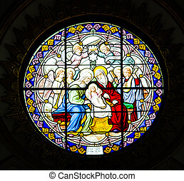 Antique Stained Glass Windows. - Antique Stained Glass...