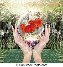 Science Future - Genetic.Genetical Engineering.Science...