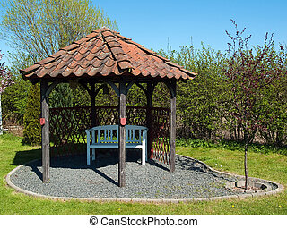 Beautiful home garden gazebo pavilion - Beautiful decorative...
