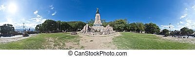 Monument to Martin Miguel de Guemes, Salta - Monument to...