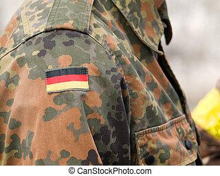 tysk, Kamouflage