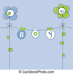 Boy Shower Invite - Baby boy shower invite