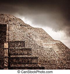 金字塔, 墨西哥人