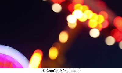 Amusement Park Lights-Bokeh