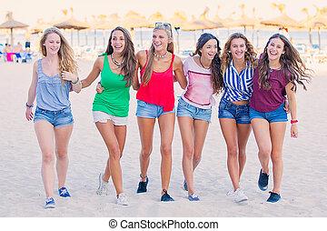 spring break teens