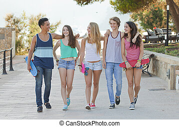 teens in Majorca or Mallorca