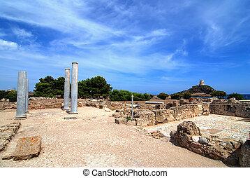 Ruins of Pula