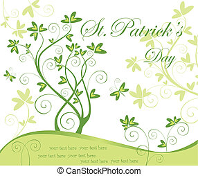 Greeting card for St.Patrick's Day
