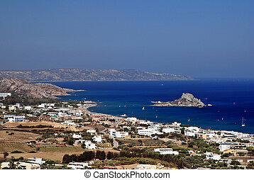 kefalos, zatoka, grecja