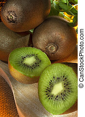 Kiwifruit - Chinese Gooseberry - The kiwifruit or Chinese...