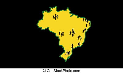 Map of Brazil, World Cup cities - Map of Brazil The cities...
