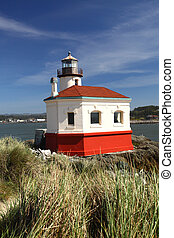 Oregon coast portrait - Portrait of the freshly painted...