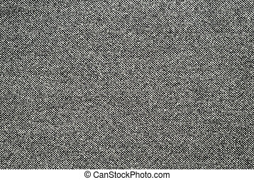Wool fabric - Black and white wool fabric for background