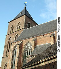 Historic church - Onze Lieve Vrouwen of Buiten Church from...