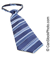 Blue Necktie close up shot
