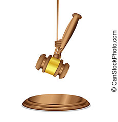 The Pending Decision Judgment - A wooden judge's mallet...