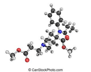 Chemical structure of remifentanil, a potent ultra...