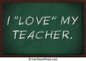 i, Amor, meu, professor, irônico