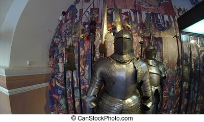 The knights armor