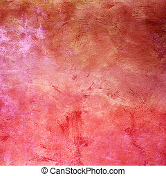 Red abstract stone grunge background