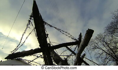 Military barriers, obstacles