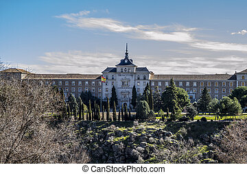 Military school in toledo, near the city