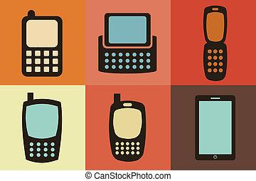 digital design over colors background vector illustration