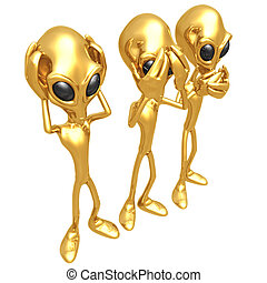 3 Wise Aliens