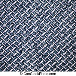 Blue straw background - Blue woven straw texture for...